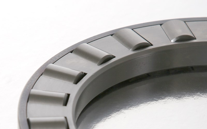 Part of a refurbished cylindrical roller bearing.
