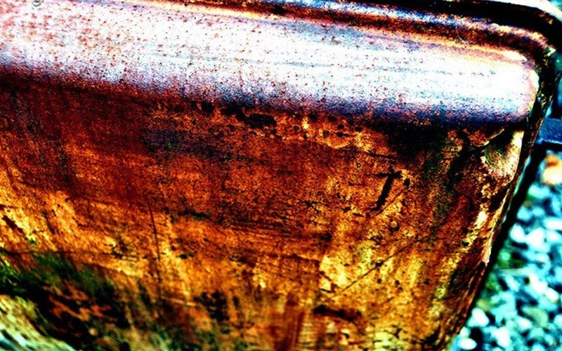Corrosion. Common causes of bearing corrosion include moisture, acid action, poor or broken down greases, poor wrappings, and condensation resulting from excessive temperature reversals. 45:365 Corrotion by AnneCN is licensed under CC BY 2.0