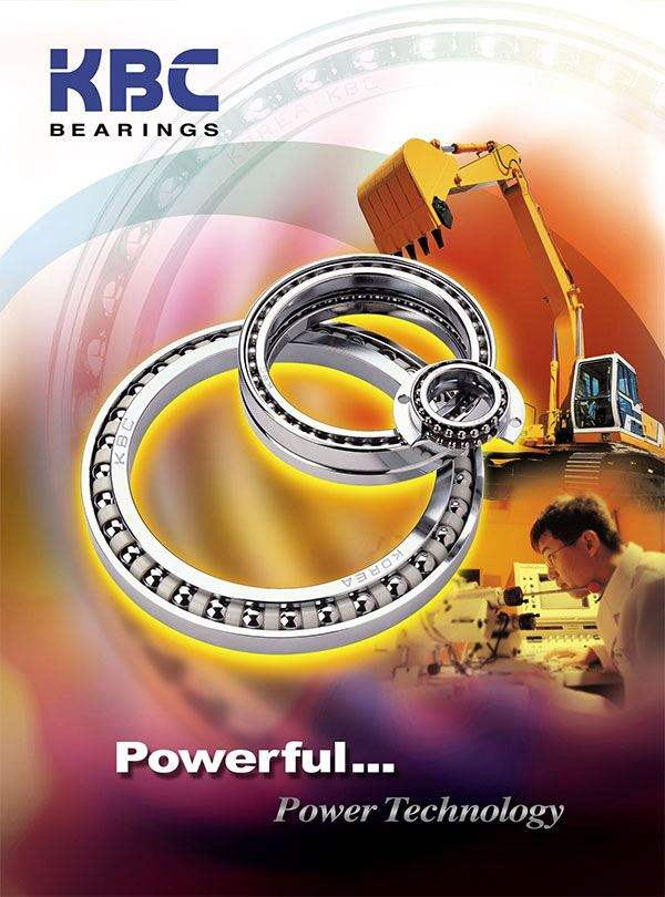 Image of KBC radial ball bearings and deep groove ball bearings.