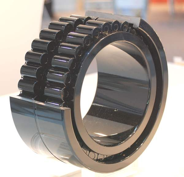 Image of a cylindrical roller bearing from NKE bearings.