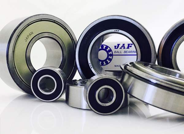 Chrome steel bearings and double row bearings from JAF.