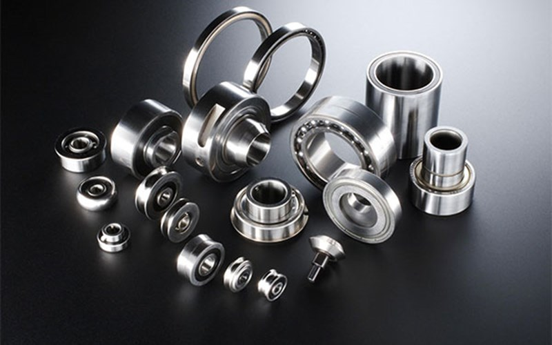 Image of stainless steel bearings from SMT bearings.