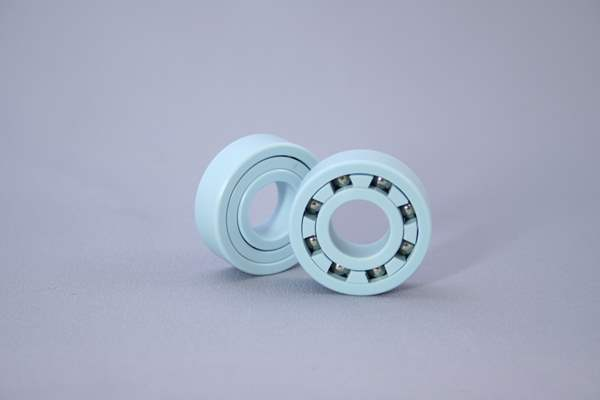Image of a plastic ball bearing made by Kashima.